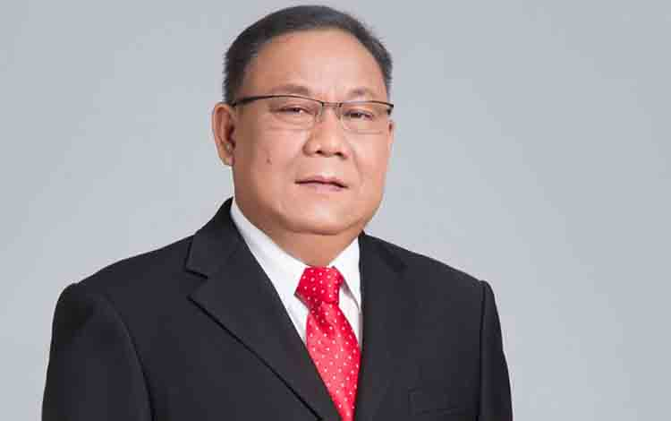 Ketua DPRD Murung Raya, Gad F Silam.