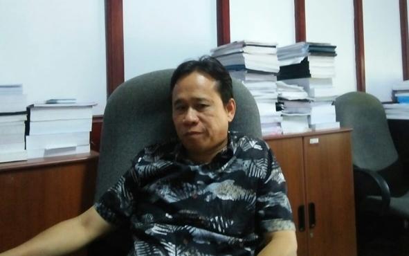 Ketua Fraksi PAN DPRD Seruyan Bejo Riyanto.