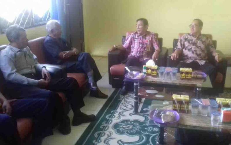 Rapat FKPD di Barito Timur, Kamis, 18 Juli 2019.
