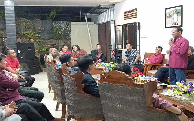 Arton S Dohong menceritakan awal mula dirinya ditunjuk Ketua DPD PDIP Kalimantan Tengah
