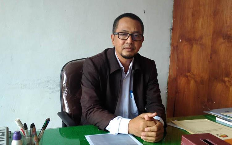 Ketua KPU Kobar Chaidir.