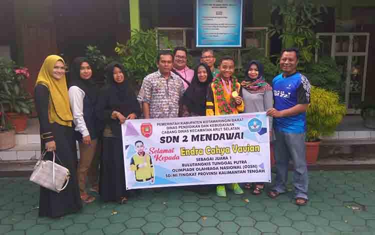 Murid SDN 2 Mendawai, Pangkalan Bun, Kabupaten Kotawaringin Barat akan mewakili Kalteng pada 02SN Nasional.