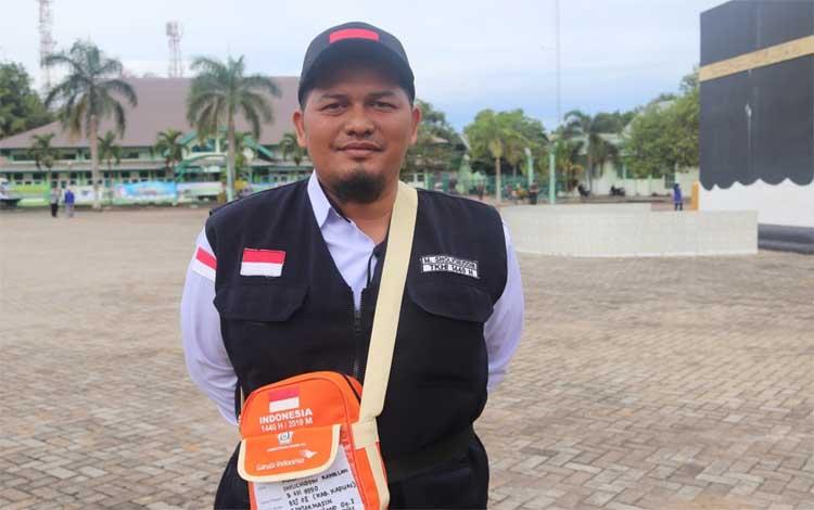 Petugas Tim Kesehatan Haji Indonesia Kabupaten Kapuas M Sholichuddin