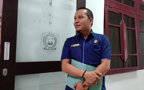 Ketua Fraksi Nasdem, DPRD Kotim Syahbana.