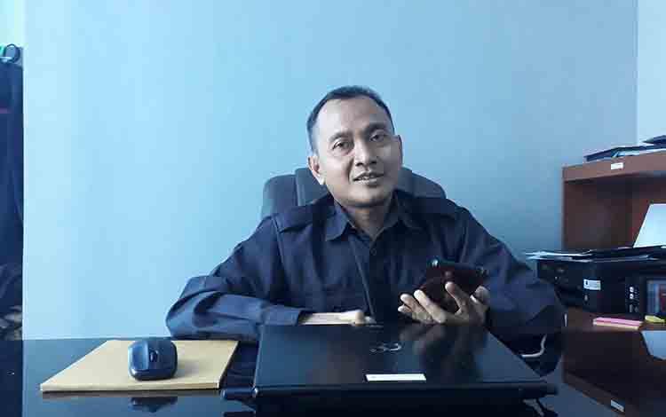 Kepala Badan Pusat Statistik Kabupaten Kotawaringin Barat Oo Suharto.