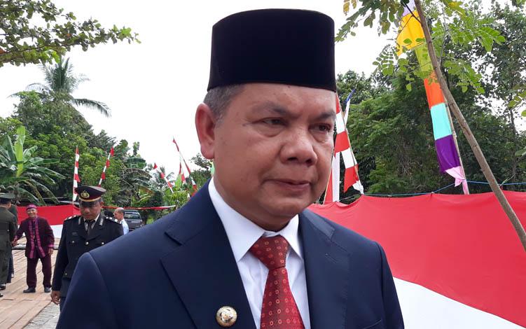 Bupati Kapuas Ben Brahim S Bahat.