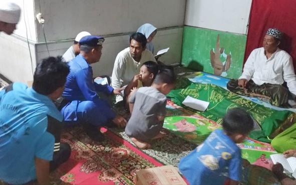 Korban tenggelam di Sungai Kalanamam saat disemayamkan di rumah duka, Rabu, 23 Juli 2019.