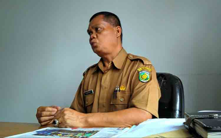 Kabid Kesehatan Hewan dan Masyarakat Verteriner (Kesmavet) DKPP Kota Palangka Raya Sumardi