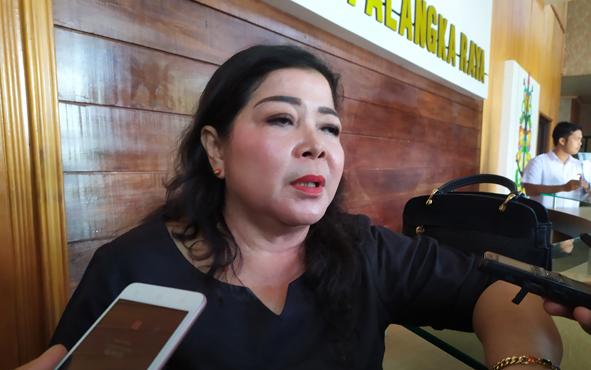 Ketua Komisi B DPRD Kota Palangka Raya, Nenie A Lambung.