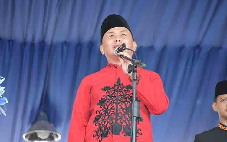 Gubernur Kalimantan Tengah, H Sugianto Sabran