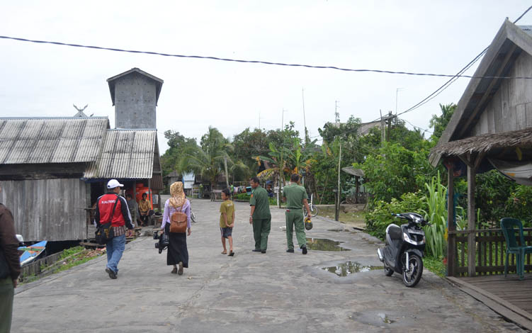 Desa Pulau Nibung, Kecamatan Jelai, Kabupaten Sukamara.