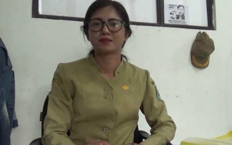 Kasi Kesehatan Hewan Dinas Pertanian Kapuas, Anik Ariswandani.