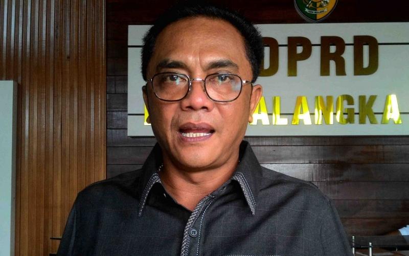 Sigit K Yunianto, Ketua Sementara DPRD Kota Palangka Raya