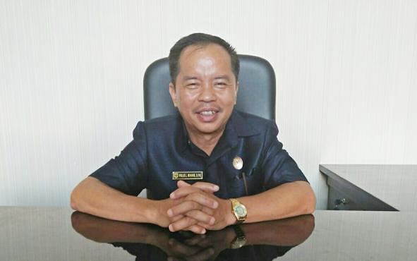 Anggota DPRD Kabupaten Gunung Mas Polie L Mihing