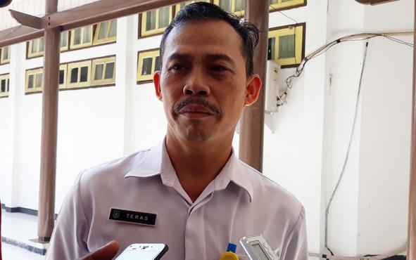 Kepala Dinas PUPR PKP Kapuas Teras.