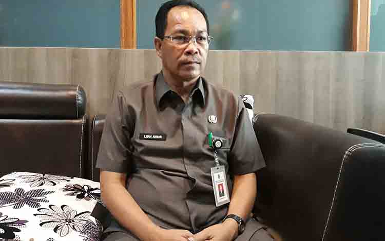 Kepala Dinas Pendidikan Kapuas, Ilham Anwar.