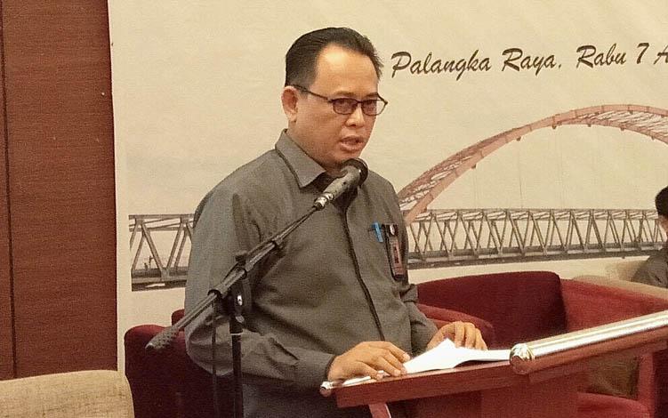Ketua KPU Kalteng Harmain Ibrohim