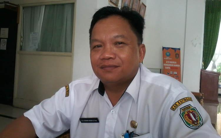 Sekretaris DPRD Katingan, GH Edwar Doddy