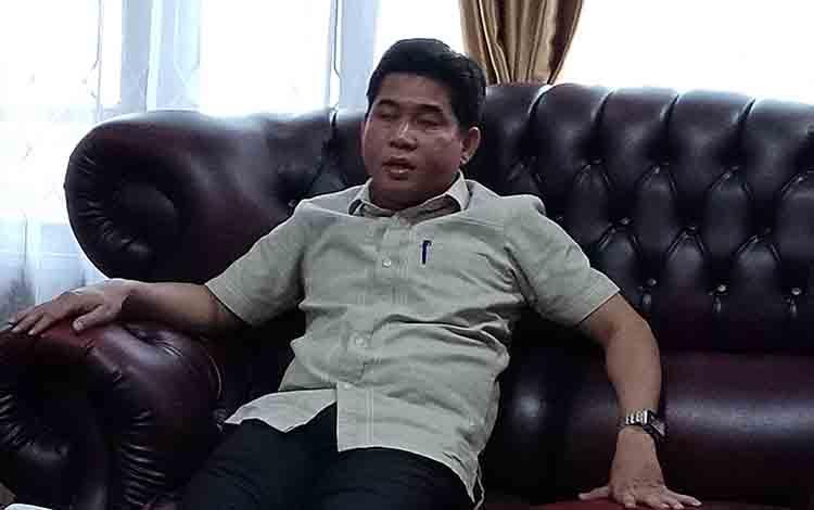 Ketua DPRD Kotim, HM Jhon Krisli.
