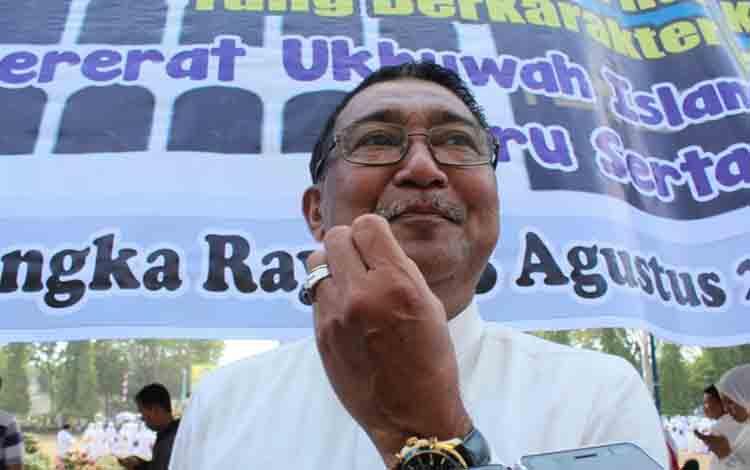 Kepala Dinas Pendidikan Kota Palangka Raya, Sahdin Hasan