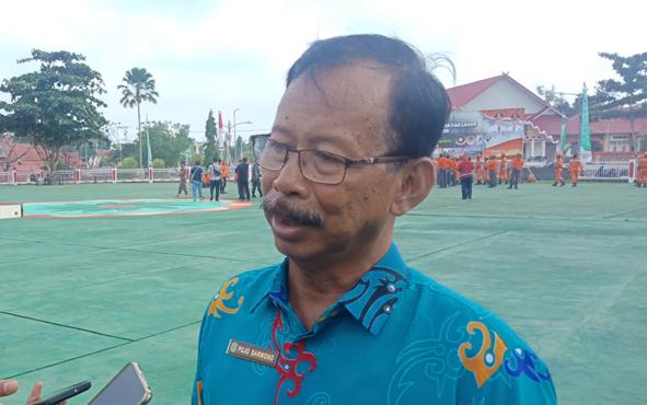 Kepala Dinas Lingkungan Hidup Murung Raya Pujo Sarwono.