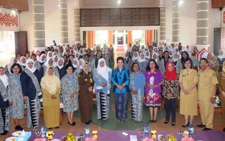 Peringatan HUT ke-68 Ikatan Bidan Indonesia di Kabupaten Kapuas padaSelasa, 13 Agustus 2019
