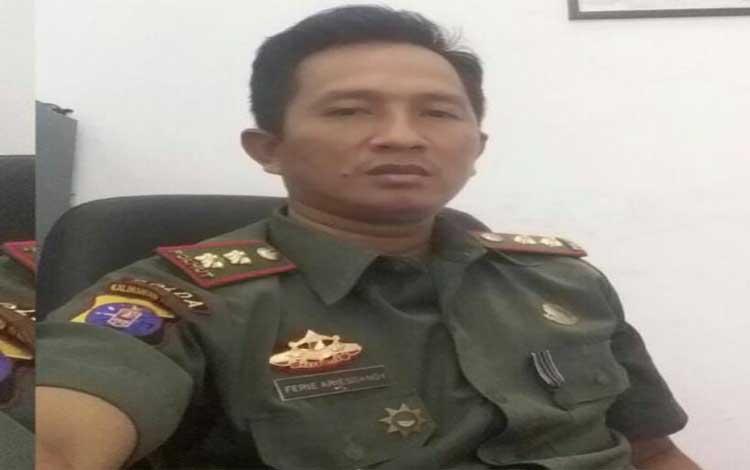 Kepala Seksi Pengelolaan Taman Nasional Sebangau Wilayah III Katingan, Perie Ariesandi
