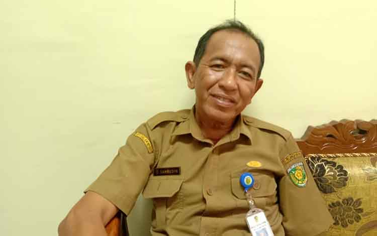 Kepala Bagian Kesejahteraan Rakyat Pemerintah Kota Palangka Raya Sahrudin