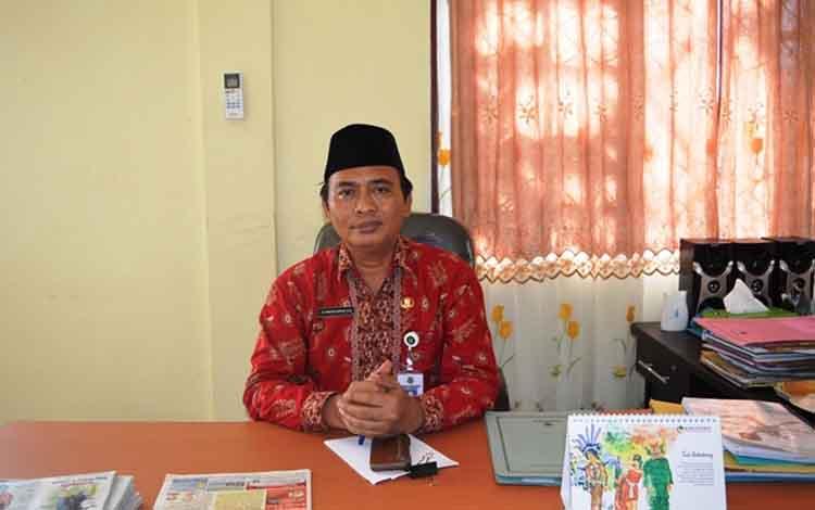 Plt Kepala Dinas Kominfo Kapuas Suwarno Muriyat