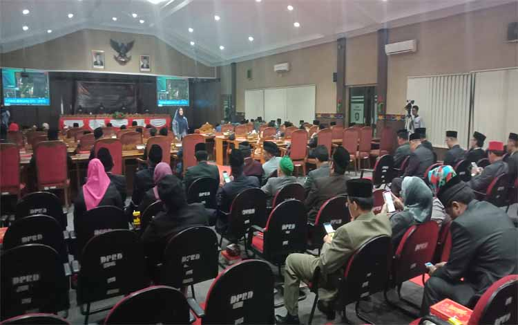 Paripurna istimewa pidato kenegaraan di DPRD Kotim, Jumat, 16 Agustus 2019