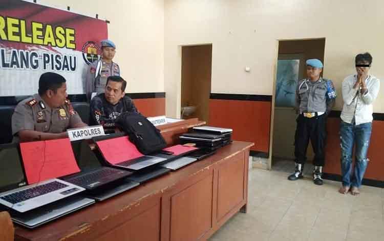 Pres release pencurian Laptop