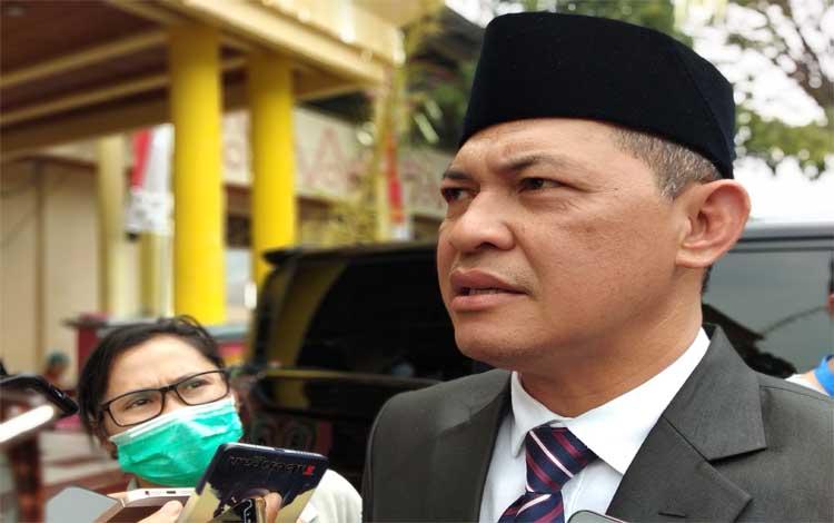 Sekretaris Daerah Provinsi Kalimantan Tengah, Fahrizal Fitri