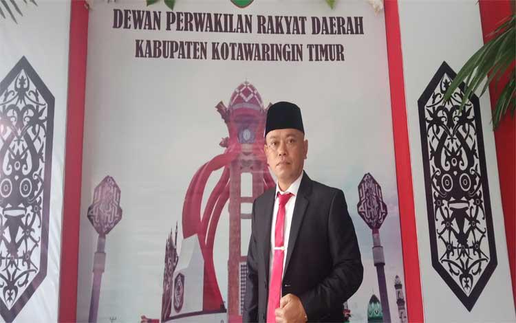Anggota DPRD Kotim, Agus Seruyantara