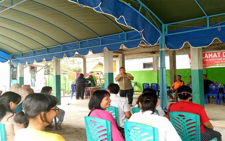 Pengobatan gratis oleh jemaat ereja Batak Karo Protestan (GBKP) Palangka Raya