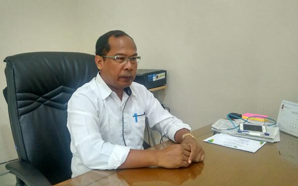 Kepala Dinas Kesehatan Provinsi Kalimantan Tengah Suyuti Samsul.