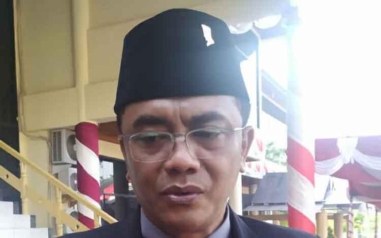 Ketua Sementara DPRD Kota Palangka Raya, Sigit Karyawan Yunianto.