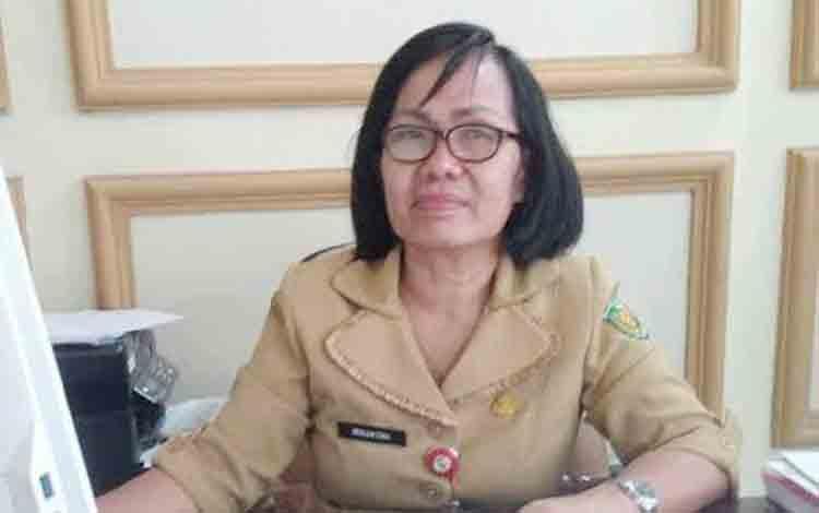 Plt Kepala Badan Kepegawaian Pelatihan dan Pendidikan (BKPP) Kota Palangka Raya, Mesliani Tara