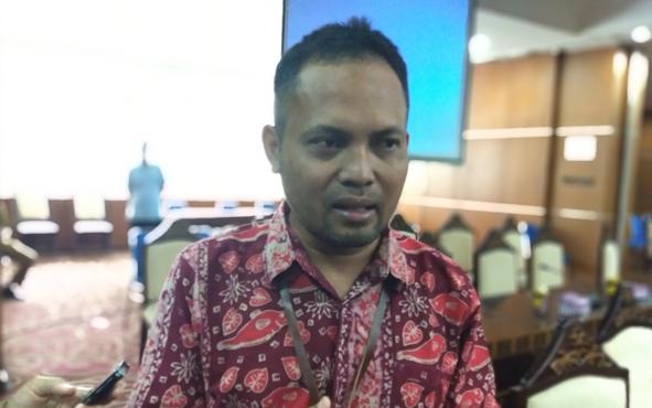 Rohmat Mujahid, perwakilan dari Balai Besar Penelitian dan Pengembangan Tanaman Obat dan Obat Tradisional, Badan Litbang Kesehatan, Kementerian Kesehatan.