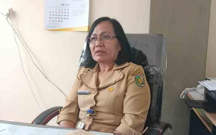Plt Kepala Badan Kepegawaian Pelatihan dan Pendidikan (BKPP) Kota Palangka Raya, Mesliani Tara.