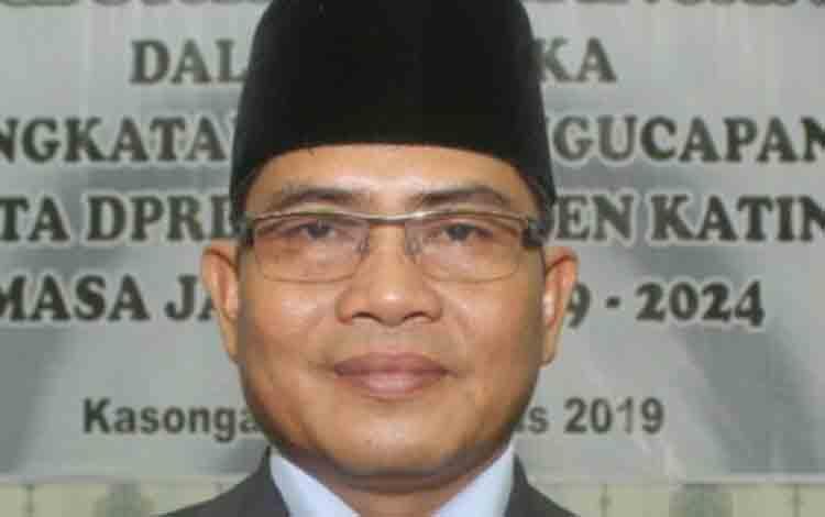 Wakil Ketua DPRD sementara Kabupaten Katingan, Nanang Suriansyah.