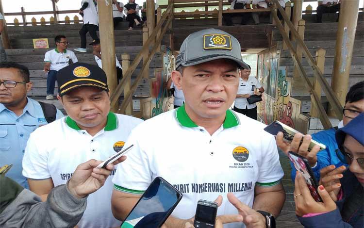 Sekretaris Daerah Provinsi Kalimantan Tengah Fahrizal Fitri