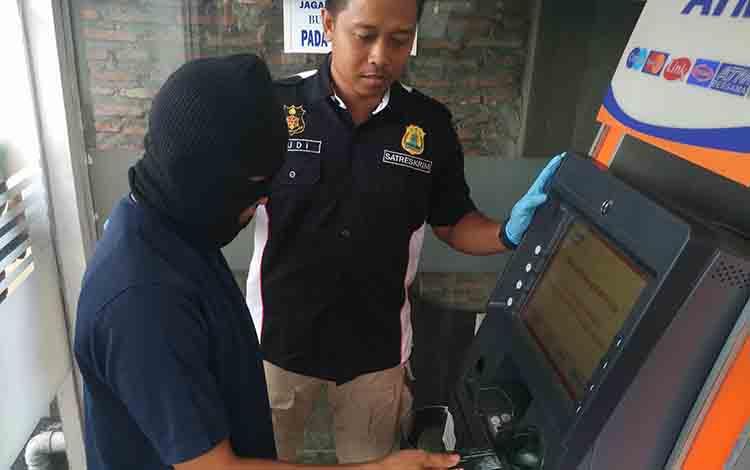 Pembobol ATM Diancam 7 Tahun Penjara