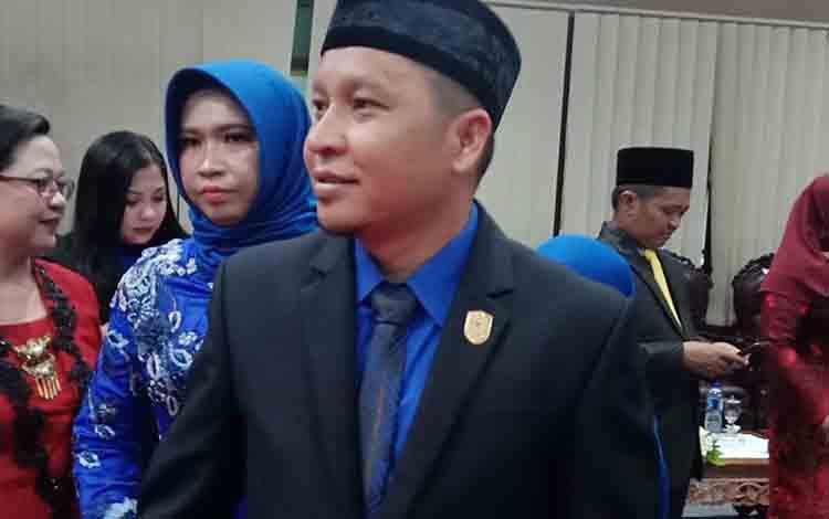 Anggota DPRD Kotawaringin Timur, Syahbana.