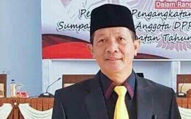 Anggota DPRD Seruyan Bambang Yantoko
