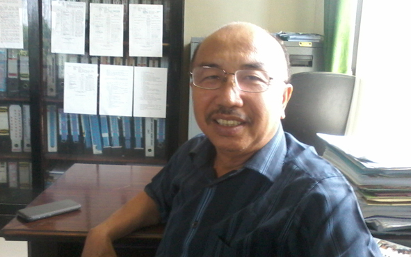 Ketua sementara DPRD Kabupaten Katingan Ignatius Mantir Ledie Nussa.