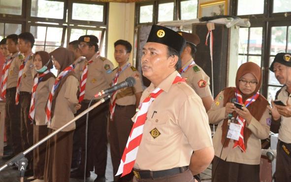 Sekretaris Kwarcab Pramuka Kapuas Suwarno Muriyat.