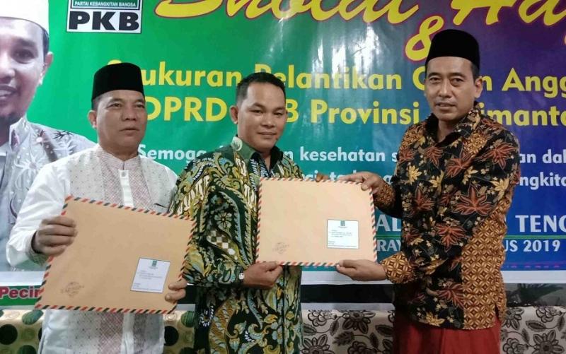Rahmanto Muhidin menerima surat penugasan DPP PKB sebagai Wakil Ketua II DPRD Murung Raya.
