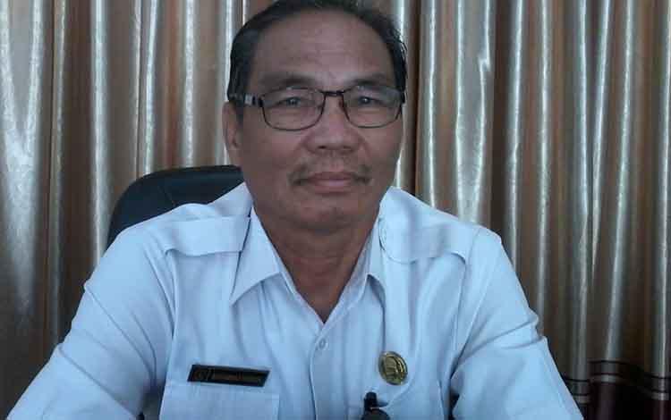 Keterangan poto: Kepala Dinas Pendidikan Kabupaten Katingan, M Hasrun.
