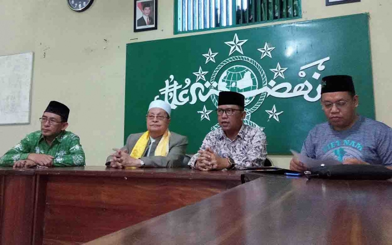 Pengurus Wilayah Nahdlatul Ulama Provinsi Kalimantan Tengah menyampaikan ke awak media soal rencana berdirinya perguruan tinggi ITS NU Kalimantan, Minggu, 1 September 2019.