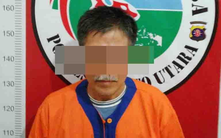 Residivis kambuhan kasus narkoba, Kaharudin alias Kahai.